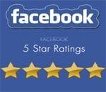 Facebook 5 star ratings