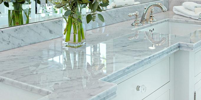 Cultured Marble Vanity Tops Vs Custom Marble Vanity Tops