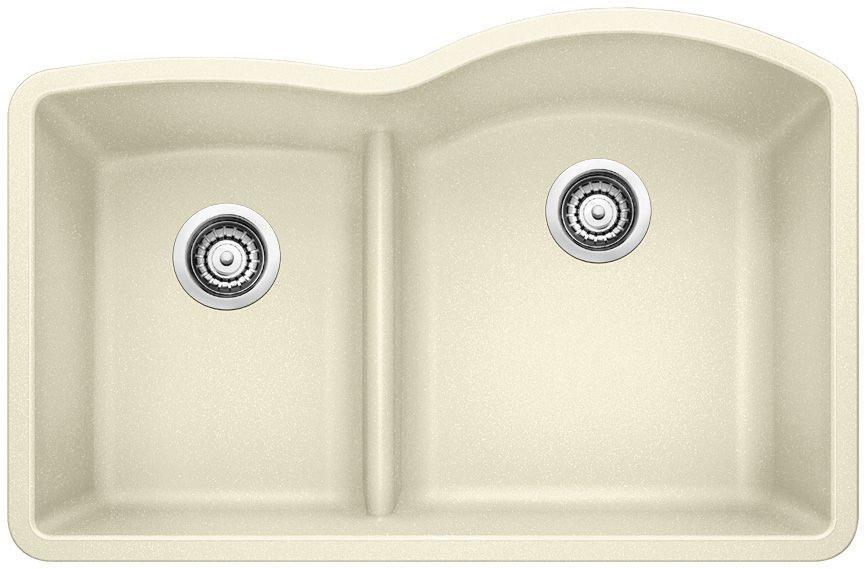 Quartz Low Divide Undermount Kitchen Sink