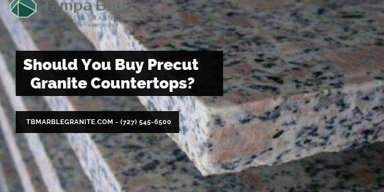 Should You Buy Precut Granite Countertops Tampa Bay