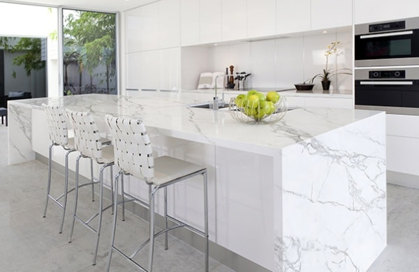 cleaning marble countertops safely