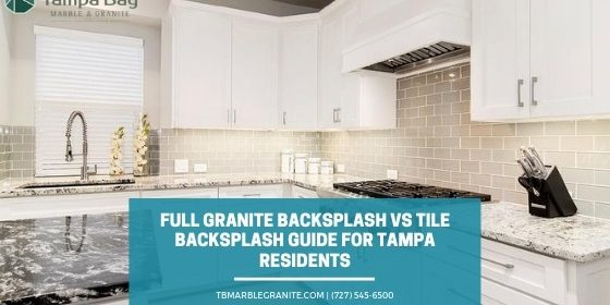 Granite Backsplash Vs Tile