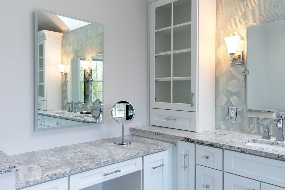 Quartz for bathroom countertops