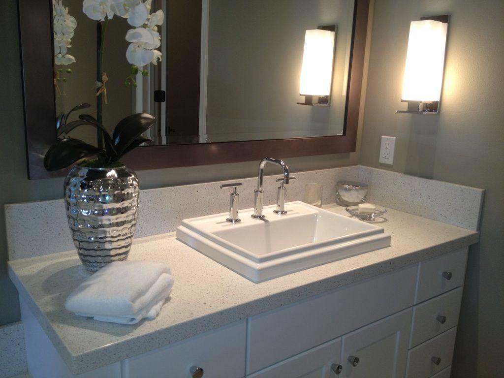 quartz for bathroom countertops