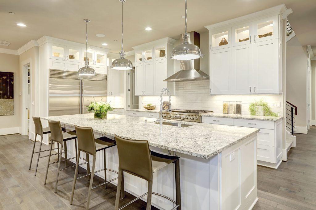 custom kitchen countertops fabrication