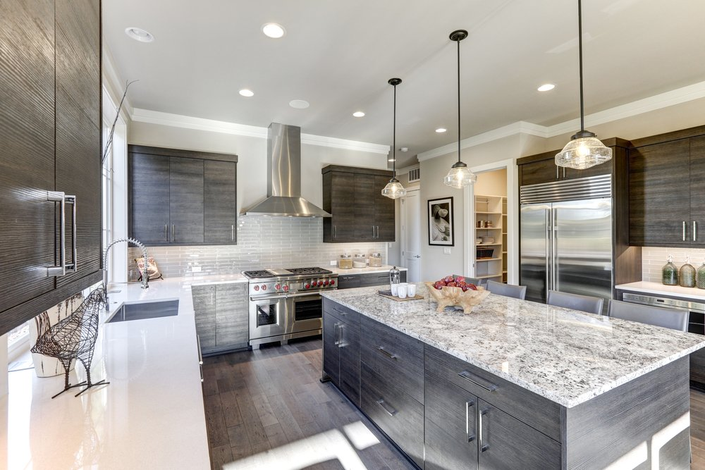 modern countertop styles in Tampa